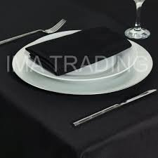black round table cloth 330cm 130 round 7 table