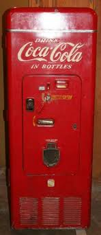 Vintage Coca Cola Vending Machines New A 48's Coca Cola Vending Machine 48's Post War Society