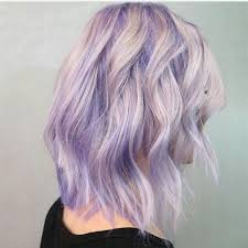Light Purple And Silver Hair Beautiful Lavender Blue To Icy Blonde Color Melt By