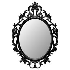 Decorative Mirror Groupings Ung Drill Mirror Oval Black Spray Painting And Sprays
