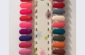 Sns Color Chart Sns Nail Color Chart Colors Fall Nailincloud