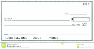Blank Cheque Template Inspiration Free Blank Deposit Check Template In Oversized Download Monster