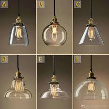 lighting pendants glass. Vintage Chandelier Diy Led Glass Pendant Light Edison Lamp Fixture  Bulb Archaize Cafe Restaurant Bar Modern Lighting Lighting Pendants Glass N
