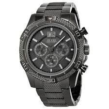 guess chronograph gmt grey dial gunmetal tone men s watch u22504g1 guess chronograph gmt grey dial gunmetal tone men s watch u22504g1