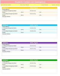 Contact List Template Exelent Contact List Template Word Motif Documentation Template 7