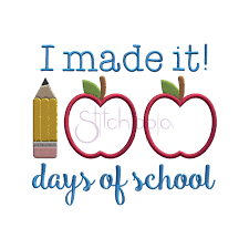 100 Days Of School Applique Design 100 Days Of School Applique Design 100 Days Of School