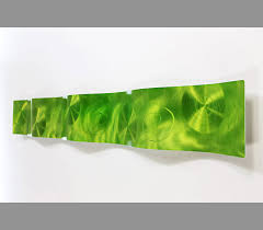 extravagant lime green wall art design idea great contemporary simple statement share kitchen canva wallpaper
