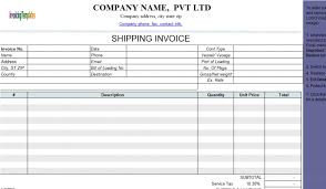 shipping info template shipping invoice template shipping invoice template best resume
