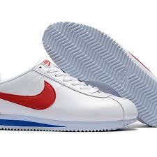 cari harga murah nike cortez basic leather men s shoe white gym red dari ribuan toko di indonesia