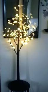 cherry blossom decorations party led tree lamp light decor lights 4 ft soft white 3