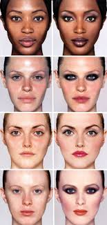 models with and without makeup looks from the nars book makeup your mind by françois nars