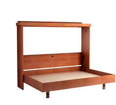 horizontal twin murphy bed. Mission Horizontal Murphy Bed In Oak/Cherry - Open Horizontal Twin Murphy Bed H