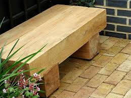 Small Picture Outdoor Wooden Bench Diy Front Yard Landscaping Ideas For Small