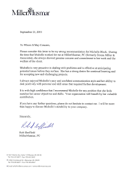 Letter Of Recommendation For A Company Letter Of Recommendation R Sheffield Professional