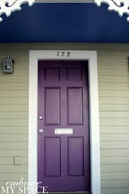 front door paint ideas 2Best 25 Purple front doors ideas on Pinterest  Purple door