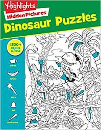 Hidden image jigsaw puzzles are popular among the puzzler community. Dinosaur Puzzles Highlights Hidden Pictures Highlights 9781629797809 Amazon Com Books