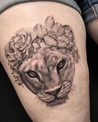 lioness tattoo. Fine Tattoo Lioness Tattoo Design 2 Throughout Lioness Tattoo