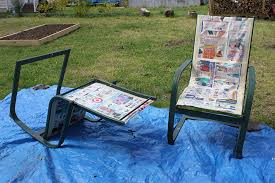 refurbish outdoor furniture with spray paint like new 1 ideas for painting metal patio furniture