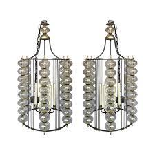 2 pcs marina chandelier by paul ferrante for home lighting idea