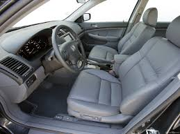 honda accord sedan ex l 2007 interior