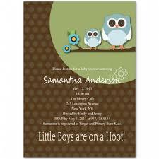 Owl Baby Shower Invitations  Kustom KreationsOwl Baby Shower Invitations For Boy