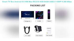 Smart TV Box Android 9.0 H96 Max RK3318 4GB 64GB USB3.0 1080P H.265 60fps  Google Voice Assitant You - YouTube