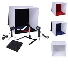 50cm mini photo studio portable soft box light tent lighting cube 4 color