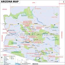 download map usa arizona  major tourist attractions maps