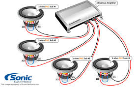 subwoofer wiring diagrams dual voice coil 4 ohm dual voice coil Dual 1 Ohm Sub Wiring Diagram astonishing 2 ohm dual voice coil subs wiring diagram 2 ohm dvc subwoofer wiring diagrams dual dvc 1 ohm wiring diagram