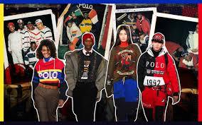 Ralph Lauren. 50 years between preppy and hip-hop