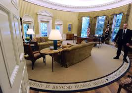 obamas oval office. President Obama Installs Appropriately Less-Optimistic Rug In The Oval Office Obamas
