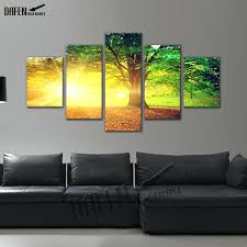 5 panel canvas wall art 5 panel canvas picture golden sunshine forest tree landscape painting wall  on 5 panel giant dragon wall art canvas with 5 panel canvas wall art 5 piece canvas art racing motorcycle canvas