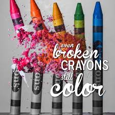 Image result for broken crayons