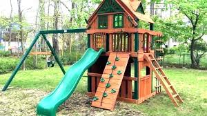 toddler swing set metal sets home depot installation wooden australia 4 wooden toddler swing