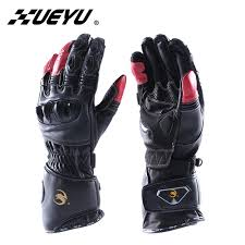 xueyu motorcycle gloves genuine leather supermoto street bike moto