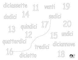 Worksheets Italian