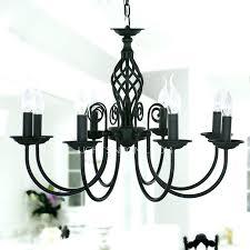 round black chandelier black metal chandelier black fixture 8 light wrought iron material chandeliers round black