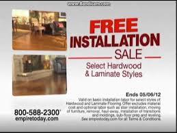 empire today free installation flooring mercial 30 secs