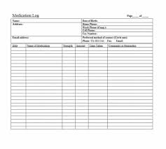 Medication Lists Templates 58 Medication List Templates For Any Patient Word Excel Pdf