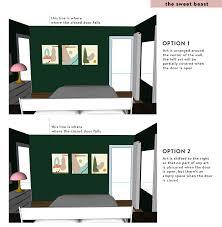 furniture placement app 2. Arranging Art Around A Door Furniture Placement App 2