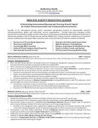 Executive Resume Example Resume Sample