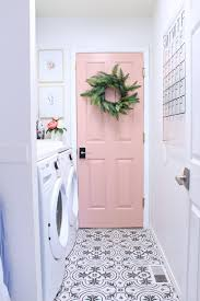 Laundry room makeovers charming small Pinterest Charming Small Laundry Room Ideas In Prescott View Home Reno Laundry Room Makeover Thegreenandbluehousecom Charming Small Laundry Room Ideas In Prescott View Home Reno Laundry