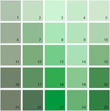 green paint color palette. benjamin moore green house paint colors - palette 16 color i
