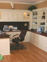 wood office cabinets. Home Office Cabinets - The Color Combo Of Dark Wood And White. Office T