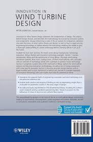 Innovation In Wind Turbine Design Innovation In Wind Turbine Design Amazon Co Uk Jamieson