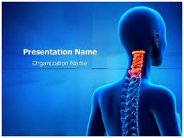 medical ppt presentations free cervical spine anatomy medical powerpoint template for