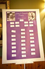 Vistaprint Wedding Seating Chart Our Table Seating Chart For The Wedding I Bought Business