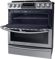 Why Dual Fuel Range Samsung Ny58j9850ws 30 Inch Slide In Dual Fuel Range With 5 Sealed