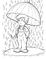 Small Picture rain coloring pages 01 Pinterest Rain Painting