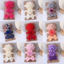 <b>5Pcs</b>/<b>set Hairpin</b> Baby Girl Kids Infant Hair Clip Bow <b>Flower</b> ...